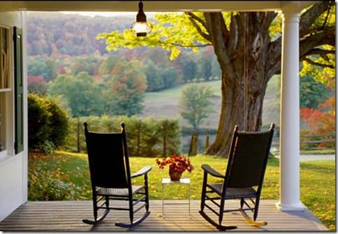 Image -rocking chairs on porch