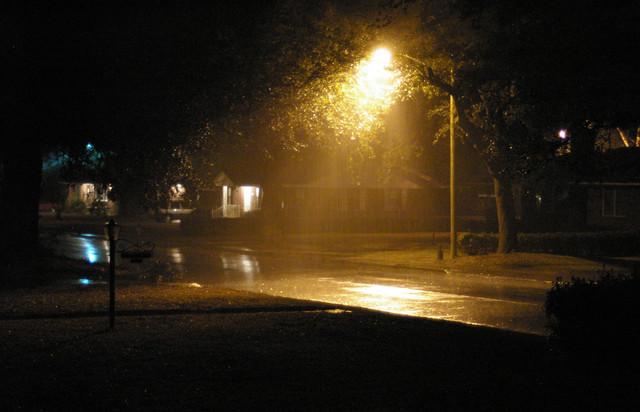 Image -street at night