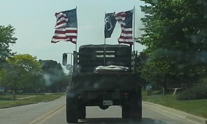 Image -Veterans truck in Oxford