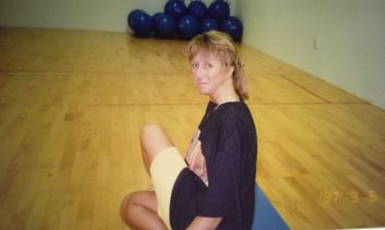 Photo -Me stretching 1997