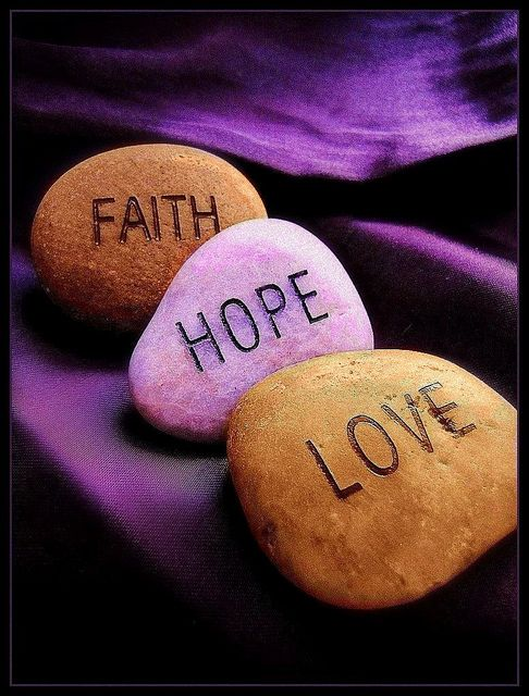 Image -Faith Hope Love